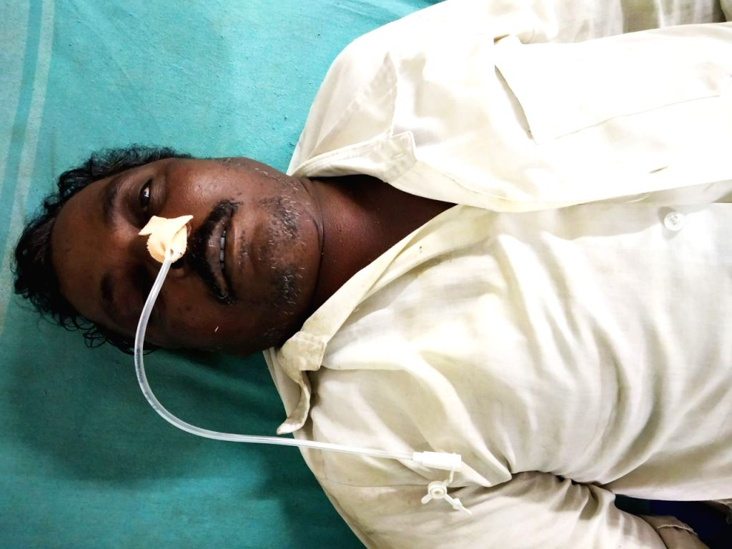 50-year old farmer Shankar Bhaurao Chayre, from Rajurwadi village in Yavatmal district who ended his life by consuming poison in his farmland on April 10, 2018.