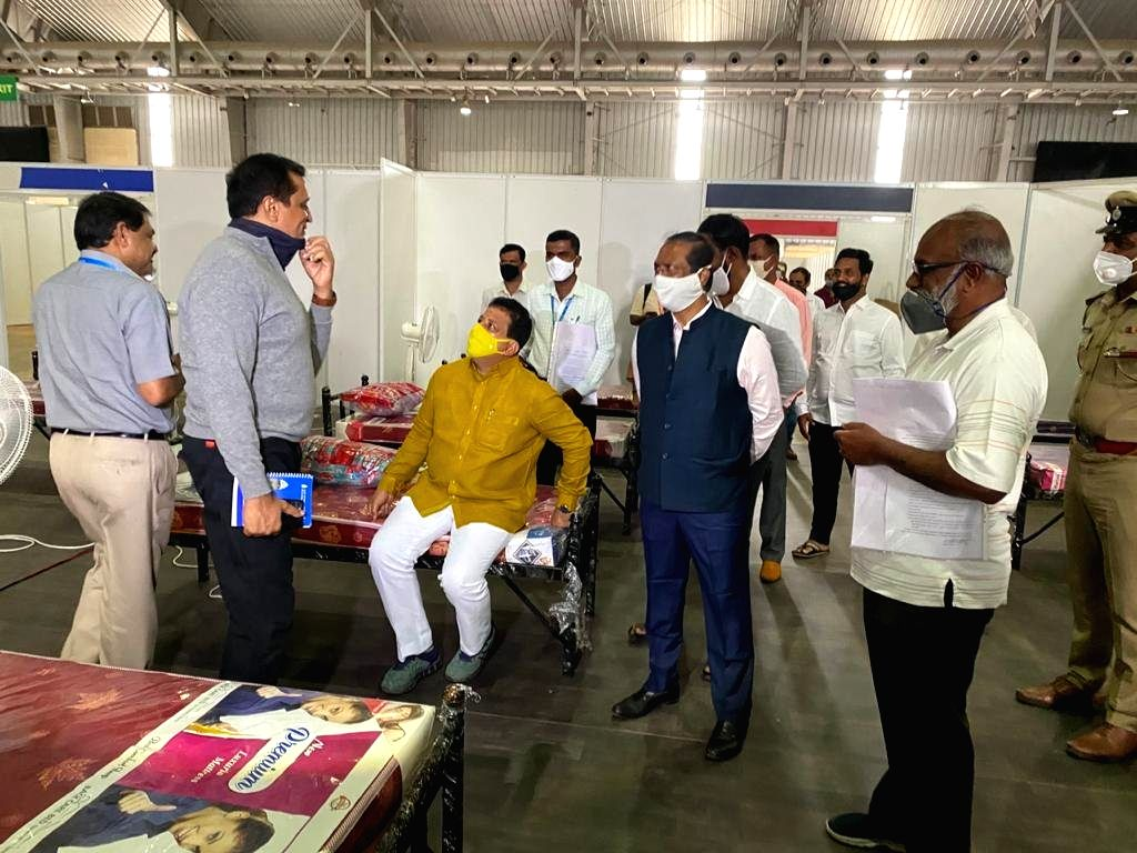 5k hospital beds ready in Bengaluru for Covid-hit: Minister.