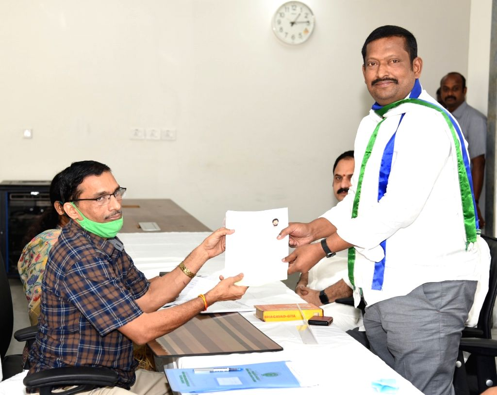 6 YSRCP candidates file nominations for MLC polls in AP