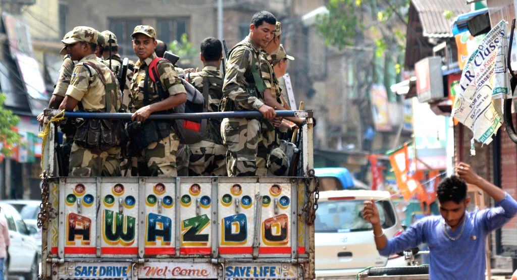 7,000 security personnel deployed for Tripura re-polls.  (Photo: IANS)