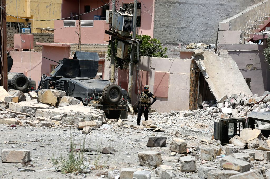 7 IS militants killed in airstrike in eastern Iraq