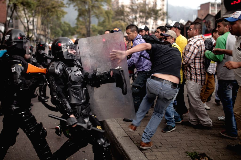 7 killed in Colombia protests against police brutality