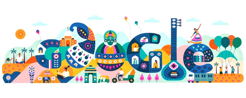 71st R-Day: Google celebrates with special doodle.