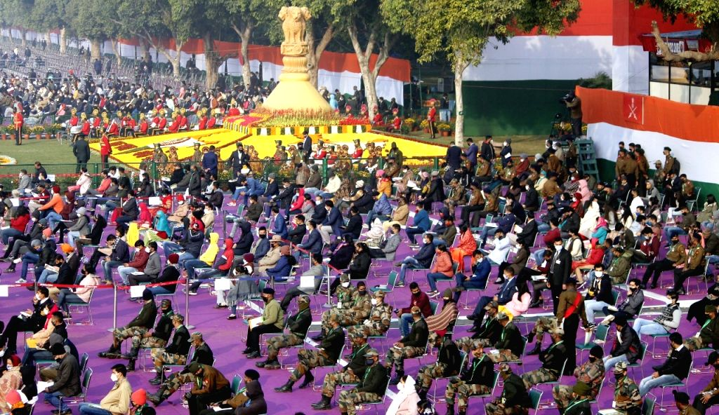 72 Republic Day celebration in New Delhi On Tuesday.