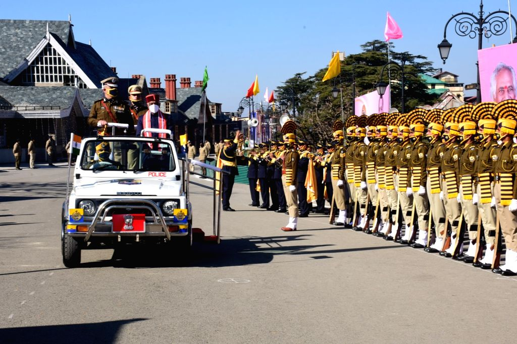72nd Republic Day celebrated with enthusiasm in Himachal