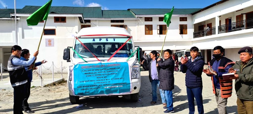 73 years after India???s independence bus service in Arunachal???s Roing along China