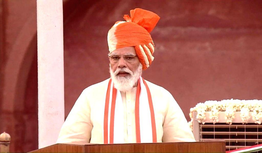 74th I-Day: PM unfurls tricolour, addresses nation.