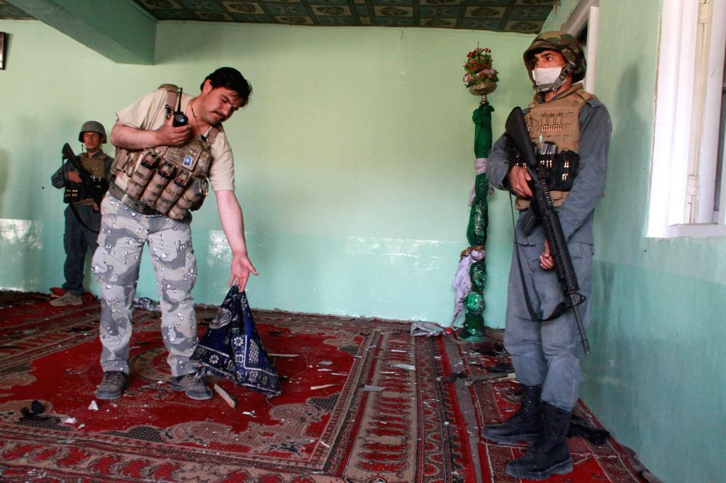 8 family members killed in Afghan mosque shooting