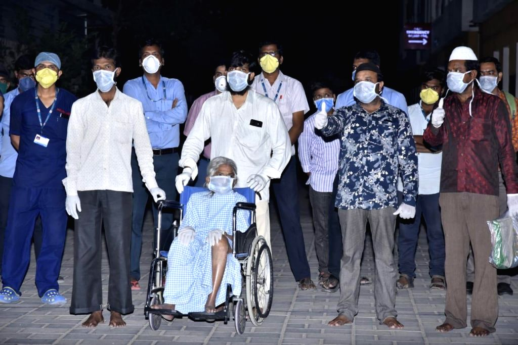 85-year-old recovers from Covid-19 in Andhra.