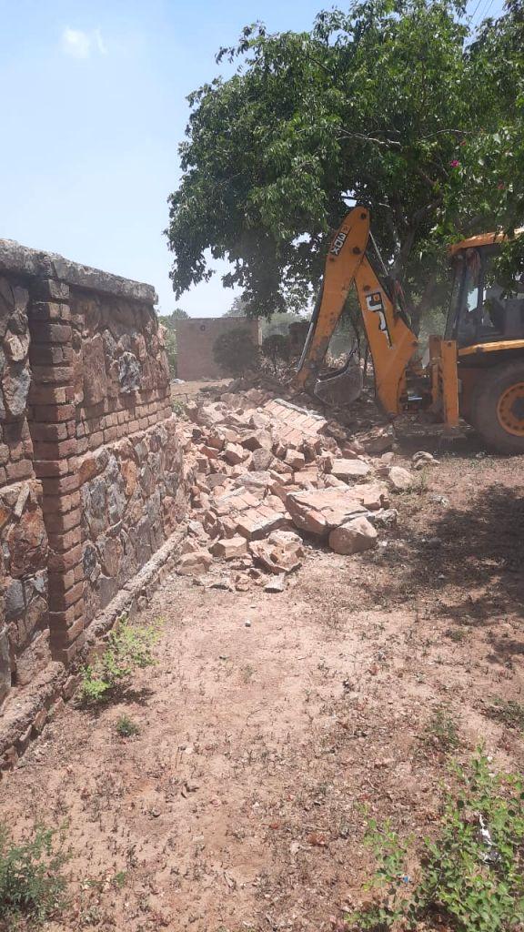 9 illegal farmhouses in Aravalli region demolished in Gurugram
