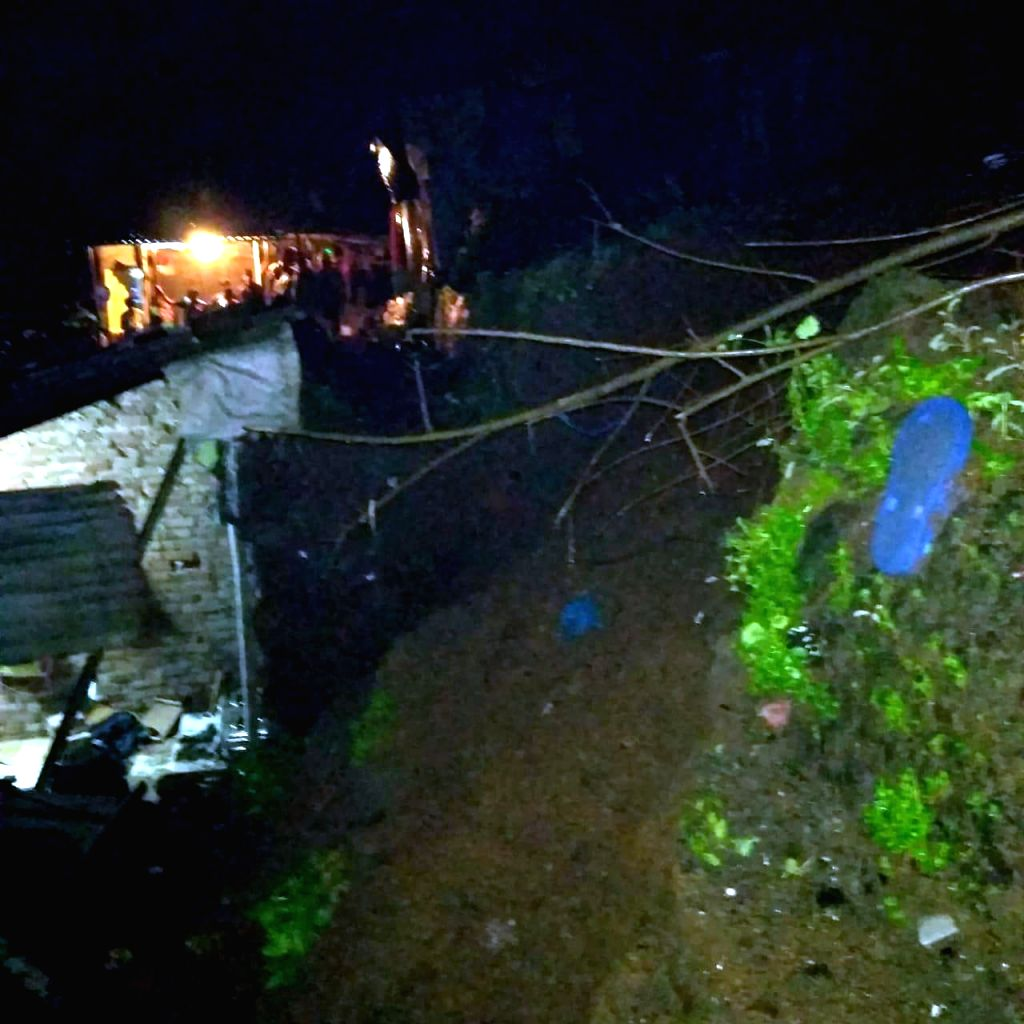 A 10-year-old boy and his father were killed in a landslide in Maharashtra's Thane as heavy rain lashed the district, early on July 30, 2019. Around 1 a.m., some boulders and huge chunks of ...