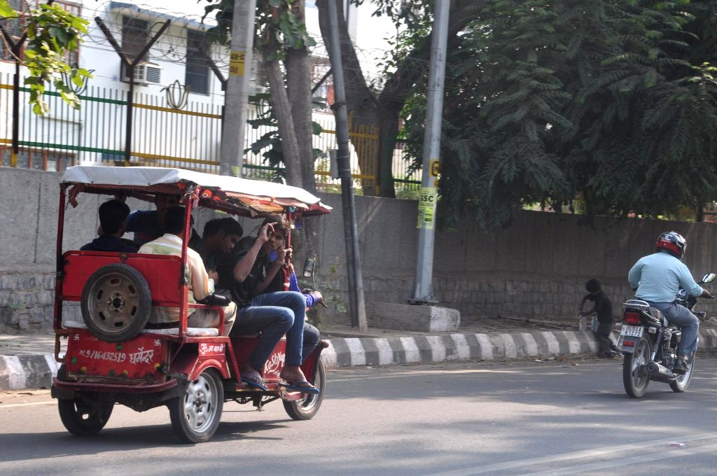 A 14-year-old boy was picked up by the Lucknow police and subjected to third degree torture when he refused to own up to the theft of an e-rickshaw. (Photo: Sandeep Datta/IANS)