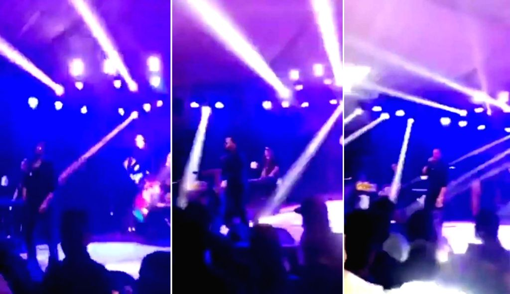 A 30-second video tweeted by a Pakistani journalist shows singer Mika Singh performing in Karachi, despite India severing all artistic and social ties with Pakistan in the aftermath of the removal of ... - Mika Singh