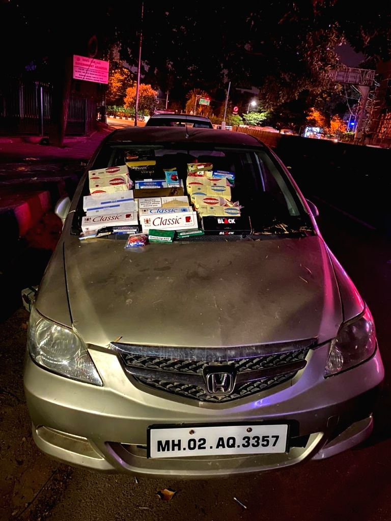 A Bengaluru city duo was arrested for illegally selling non-essential tobacco products out of their touring car to buyers contacted via online portals.