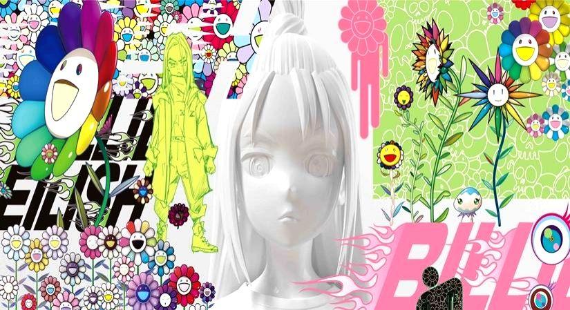 A Billie Eilish x Takashi Murakami kind of day.