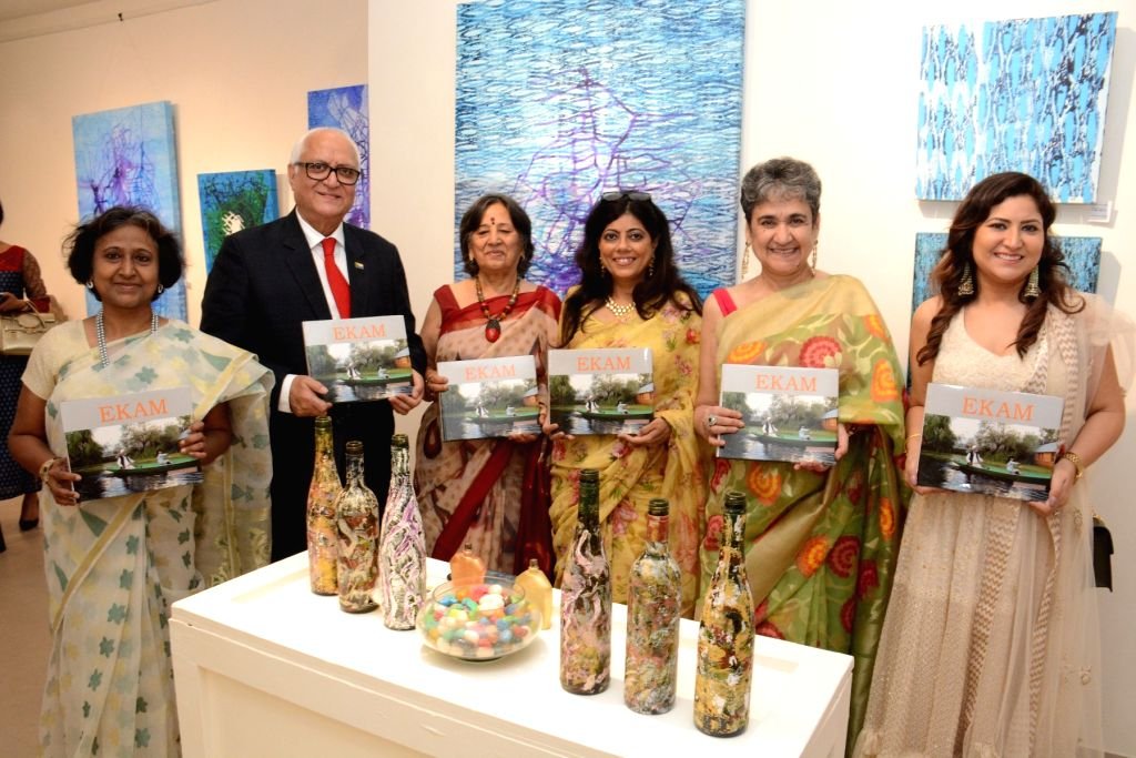 """A book compiling photographs and poems on the """"various moods"""" of Jammu and Kashmir's Dal Lake launched by Honorary Consul General of Comoros K.L. Ganju."""