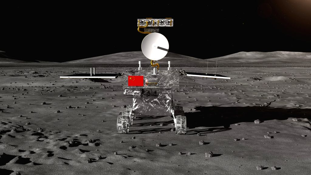 A Chinese lunar orbiter has taken a stunning image that shows the giant rear side of the moon with a tiny planet Earth nearby, the media reported. (Xinhua/IANS)