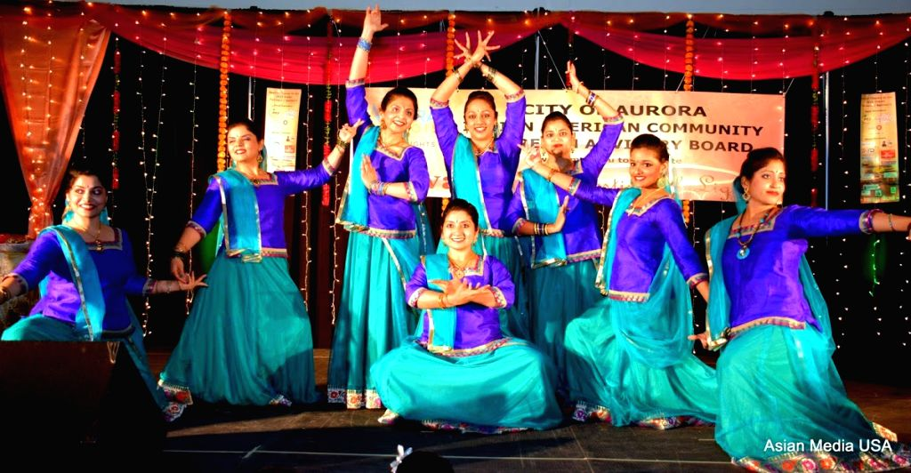 A classical dance performed by young Indian Americans.