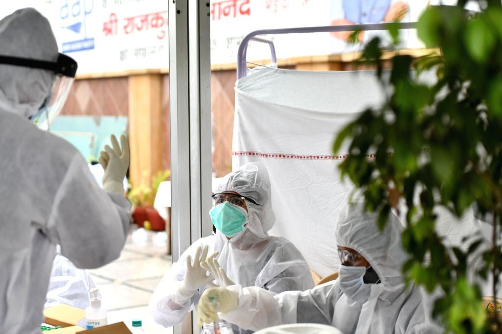 A day after a part of South Delhi was sealed with two health workers testing Covid-19 positive, a section of Mehrauli, also in the south district, was sealed on Thursday after another health worker was found with coronavirus. (Photo: IANS)
