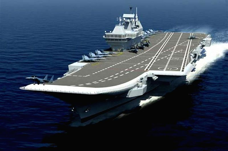 A day ahead of the Defence Acquisitions Council meeting in Delhi, Defence Secretary Ajay Kumar led a team here on Monday to review the progress of the indigenous aircraft carrier (IAC-P71) project. - Secretary Ajay Kumar