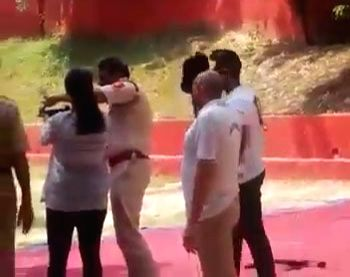 Image result for Daughter's passion for shooting gets Delhi Police inspector suspended