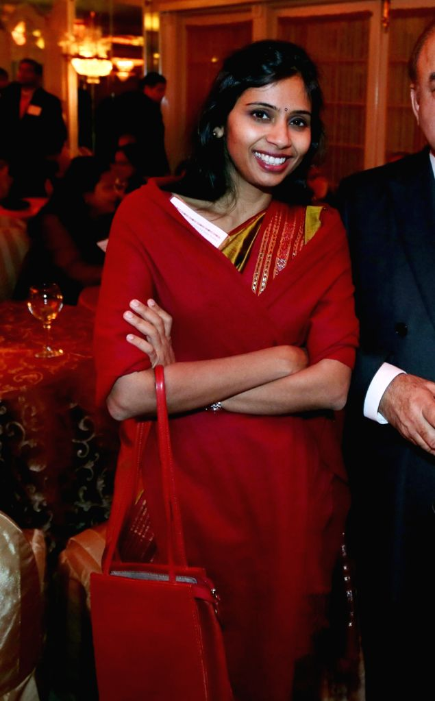 (A File Photo) Indian Deputy Consul-General in New York Devyani Khobragade who was charged with visa fraud and making false statements last week and later arrested and allegedly strip searched in New