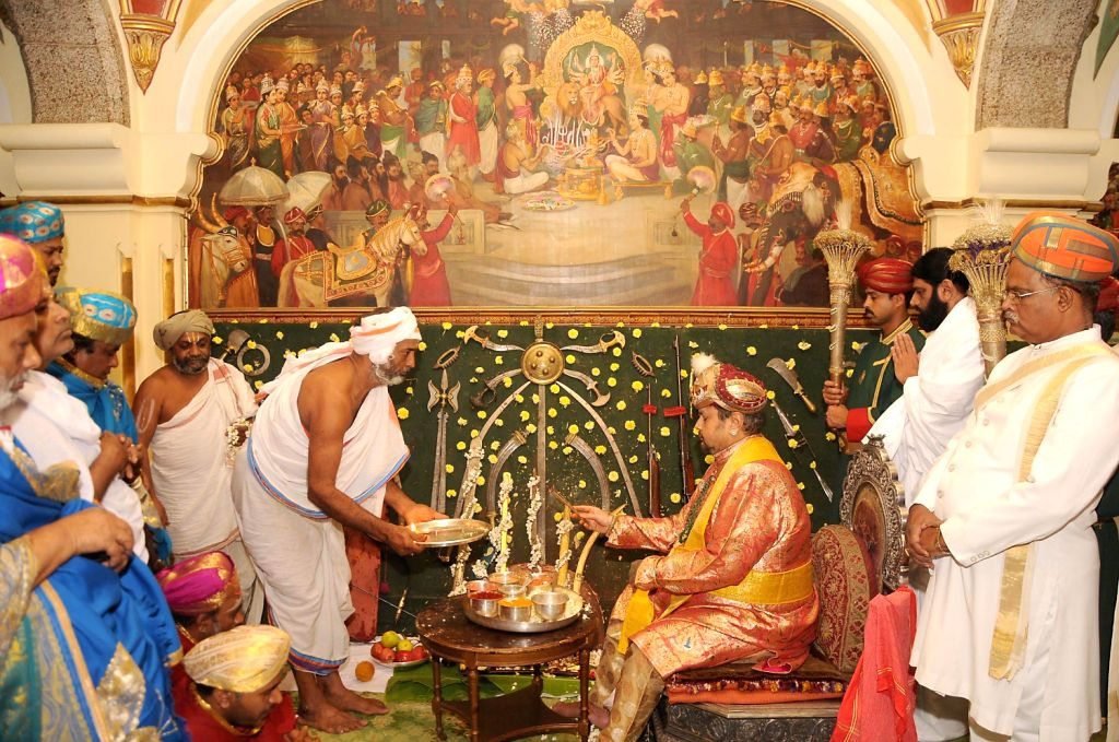 (A File Photo) Mysore scion Srikantadatta Narasimharaja Wodeyar no more. He died at the age of 60 following a cardiac arrest in a private hospital of Bangalore on Dec.10, 2013.