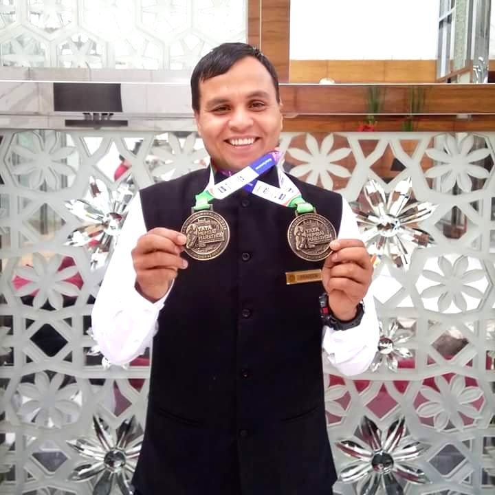 A former marine commando's Mumbai marathon medal will find pride of place in a city school to inspire students, following the school's founder purchasing the medal to fund the commando's COVID-19 ...