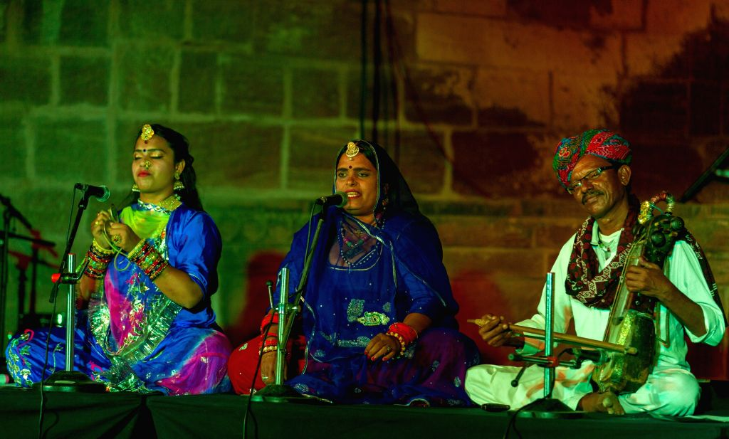 A glimpse of the Womanly Voices music session in the Jodhpur RIFF 2019. (Photo Source: Jodhpur RIFF/OIJO)
