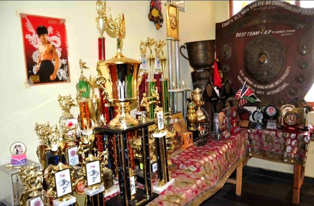 A global martial arts champion living in penury