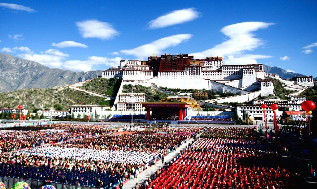 CHINA-LHASA-50TH ANNIVERSARY OF TIBET'S AUTONOMY-CELEBRATIONS