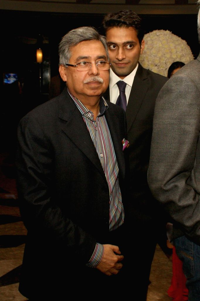 A guest during The CNN-IBN Indian of the Year awards function, in New delhi on December 20, 2013.