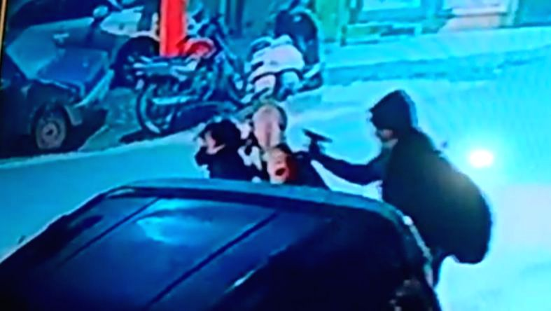 A gun seen in the hand of one of the three bikers in the CCTV footage that surfaced on Sunday. The murder of history-sheeter Jaydev alias JD has put the Gurugram police on high alert, apprehending a ...