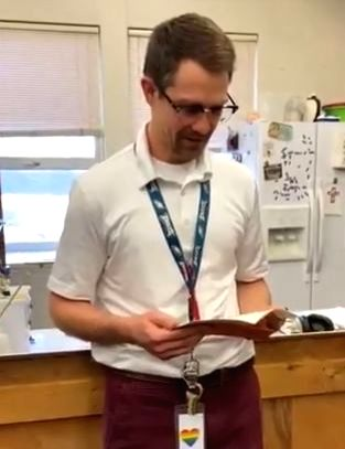 A heartwarming video of a group of students who gift their teacher a new pair of shoes after his got stolen. The priceless reaction of the teacher is caught on the camera that could be shared with the world. The whole incident was shared by a student