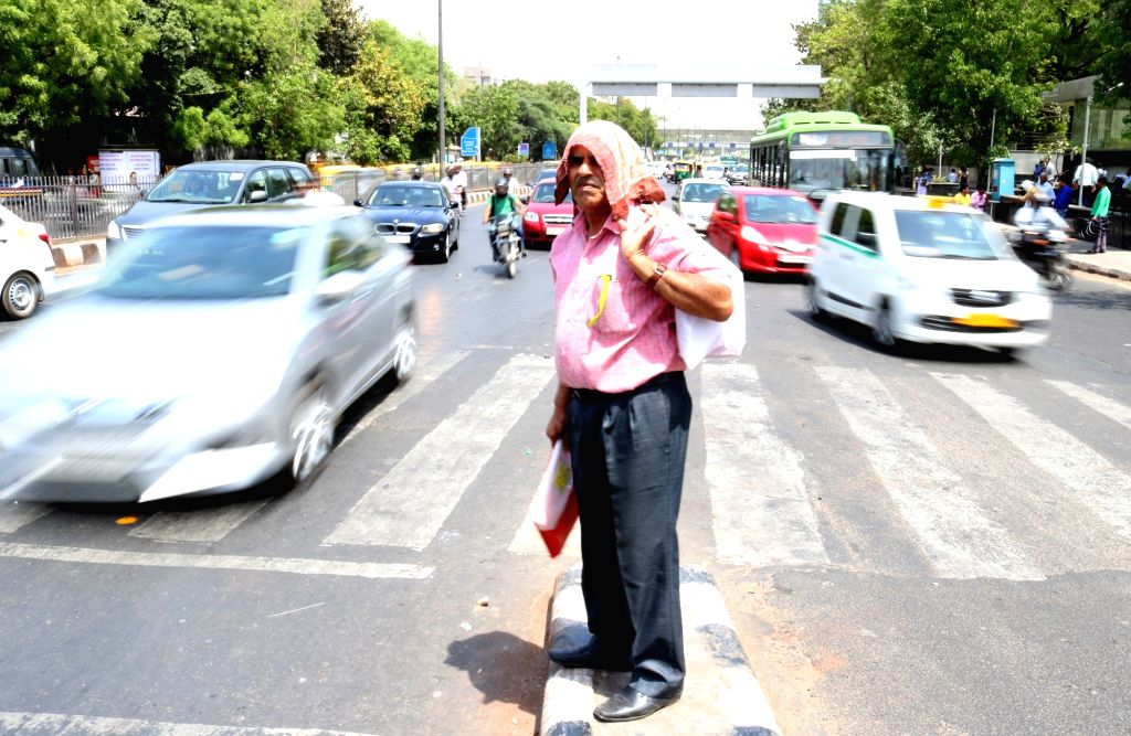 A hot day in New Delhi, on April 18, 2016.