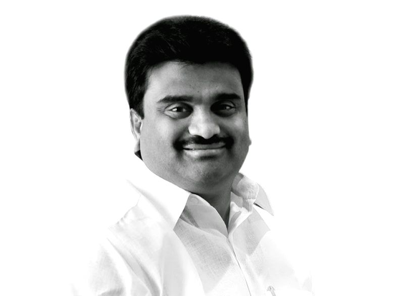 A.M. Arun, the founder of Vasan Healthcare Group.