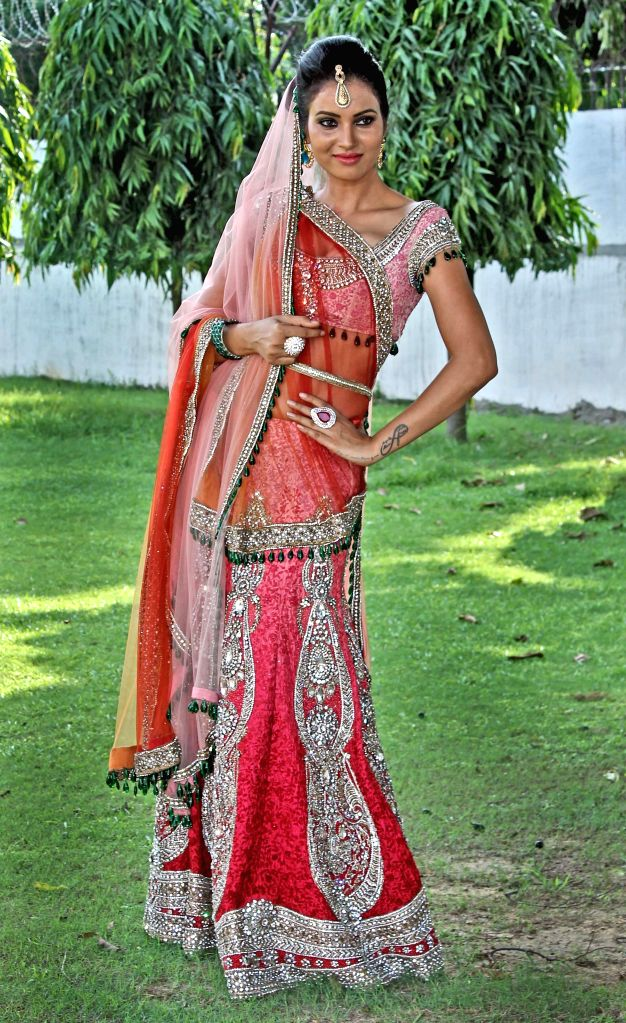 A model during `Shaan-e-Pakistan`- a programme organised at the Pakistan High Commission in New Delhi, on Aug 18, 2015.