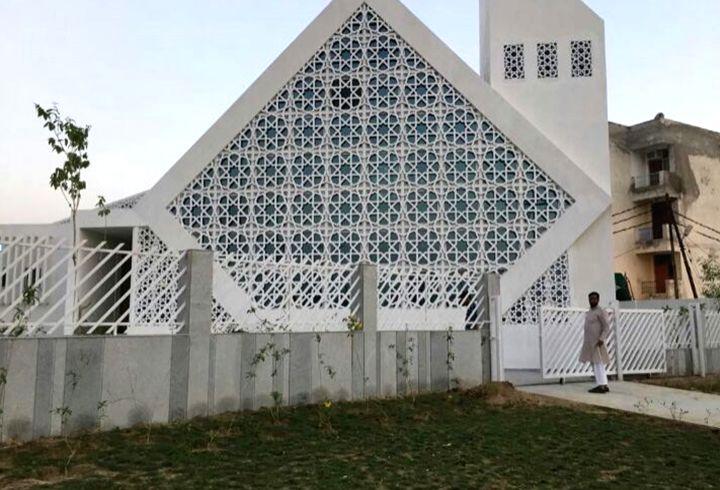 A model mosque.