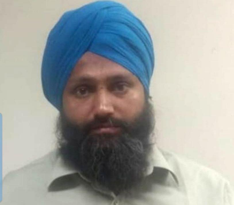 A Proclaimed Offender, Arvinder Singh who was involved in two cases of assault, was arrested by the Delhi police, on Nov 13, 2019. - Arvinder Singh