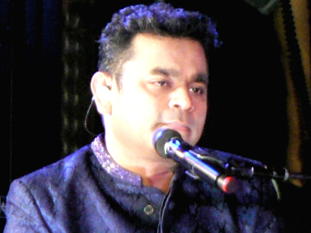 A R Rahman at the Indian Independence Day concert at the United Nations on Aug. 15, 2016, 50 years after M S Subbulakshmi\'s historic concert. (Photo credit: UN/IANS)