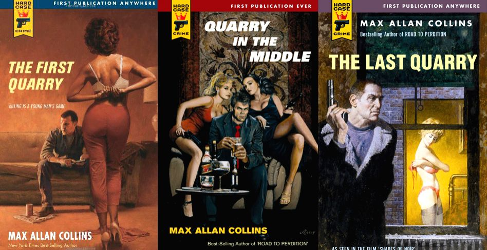A range of prolific American mystery writer Max Allan Collins\' Quarry series.