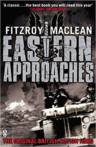 A recent and old edition of British soldier Fitzroy Maclean's Second World War memoirs