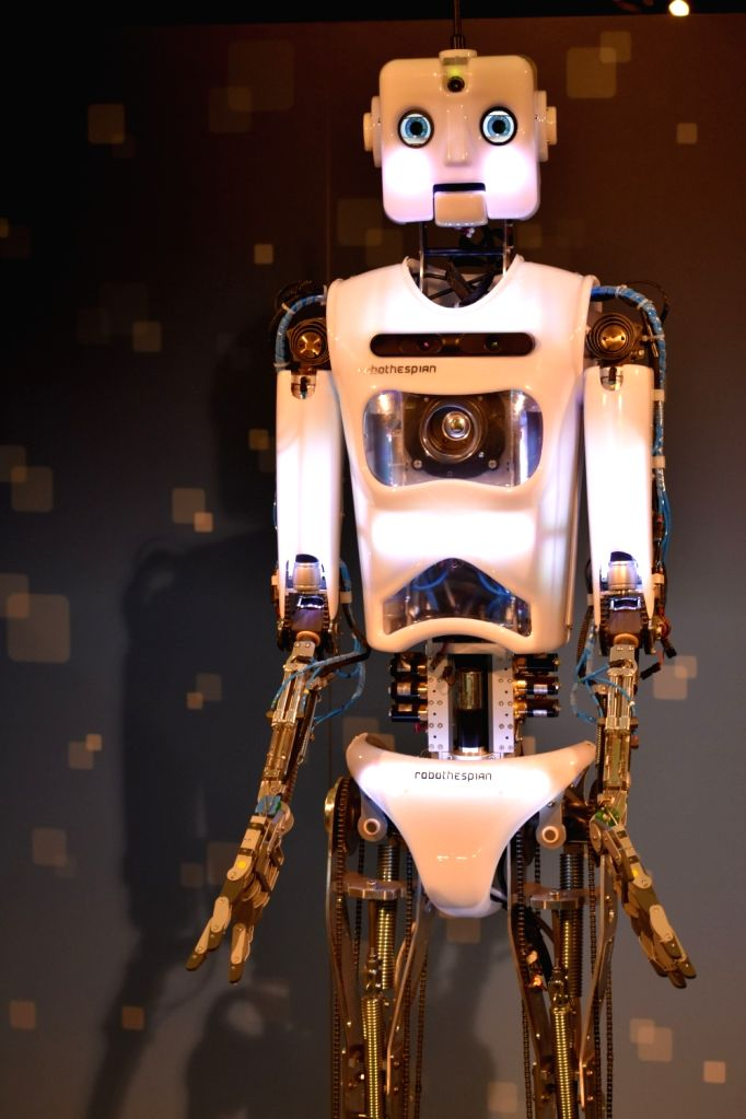 A robot at the Museum of Science and Industry in Chicago.
