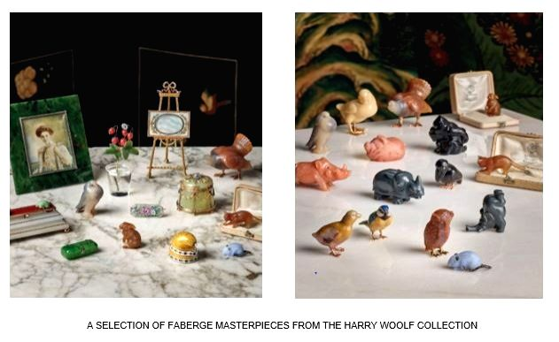 A Selection of Faberg?? Masterpieces from The Harry Woolf Collection.(photo:IANSLIFE)