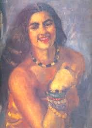 A self portrait by artist Amrita Sher-Gil, who was paid glowing tribute on her birth centenary