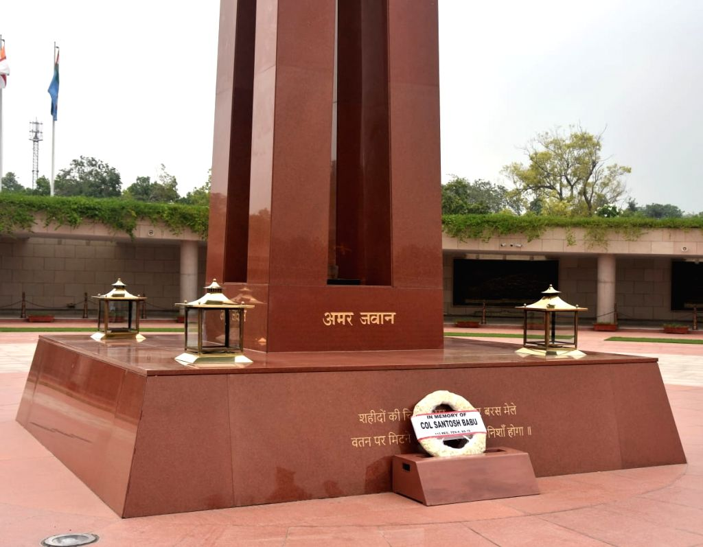 A silent wreath was laid at the National War Memorial by the course mates and friends of Galwan Valley hero Colonel Santosh Babu to honour his exemplary courage, valour and supreme ...