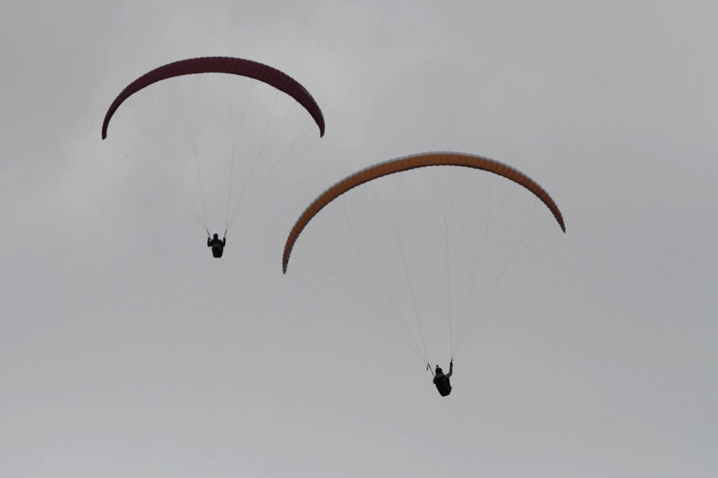 A South Korean professional paraglider was killed when his glider crashed and hit a stony hillside in Panchgani, a police official said on Wednesday. (Photo: IANS)