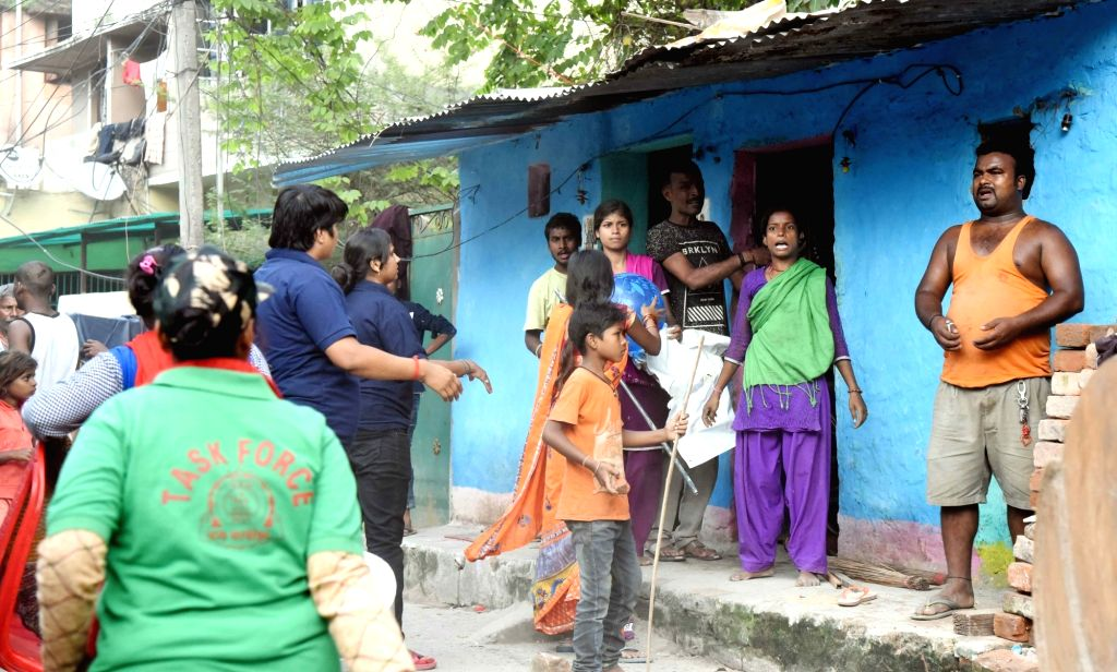 A special drive launched by the administration to remove encroachments from the drainage system in view of water-logging in various areas of Patna following heavy rains, underway on Oct 16, ...