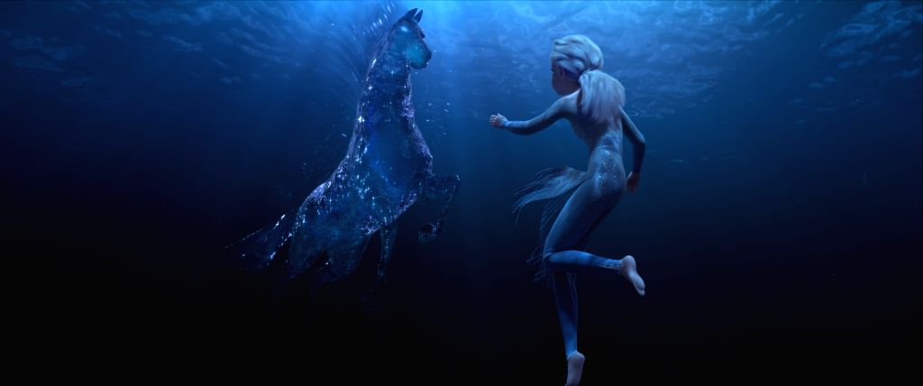 """A still from animated musical fantasy film """"Frozen 2""""."""