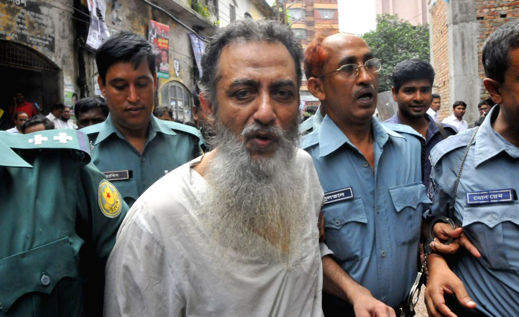 A suspect of a murder case of Bangladeshi bloggers arrives to a court for appeal in Dhaka, capital of Bangladesh, Aug. 19, 2015. Three suspects including a British ... - Abhijit Roy